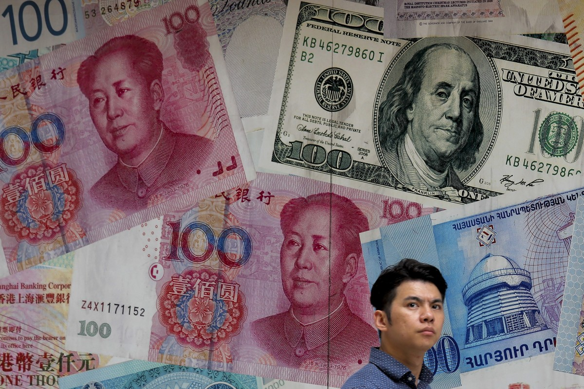 Labels China A Currency Manitor