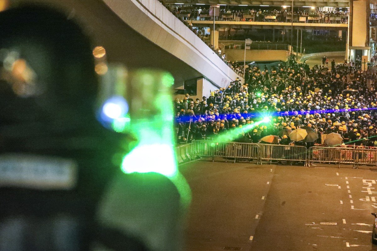 Laser pointers are not illegal in Hong Kong, but are they