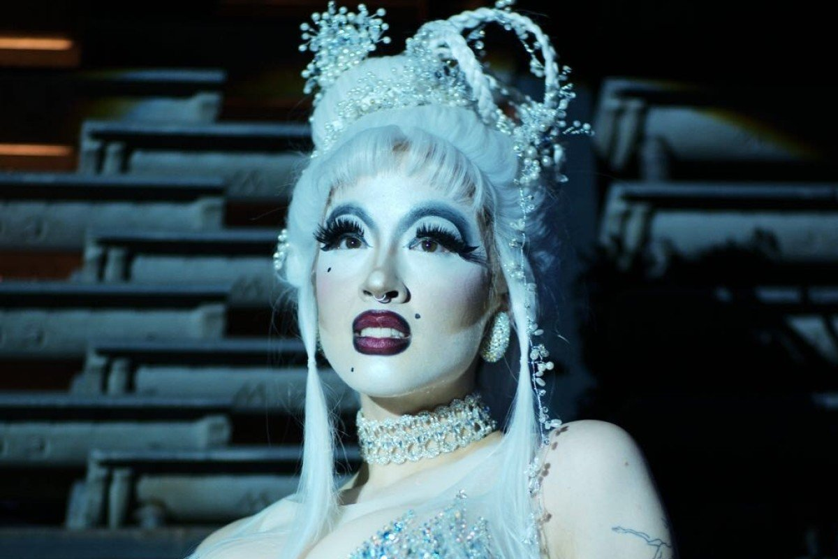 Victoria Sin, born female, is a drag queen tackling notions of