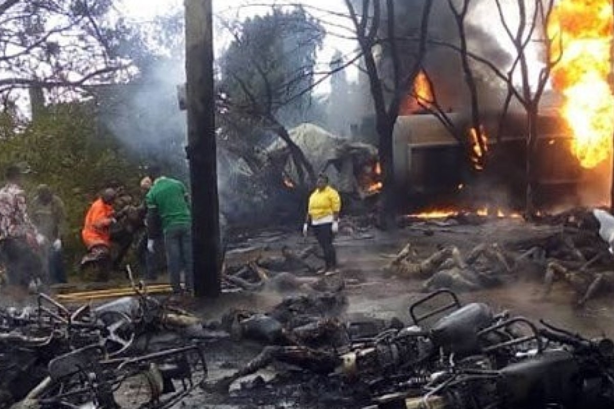 Tanzania tanker blast kills over 50 as crowd siphons fuel | South