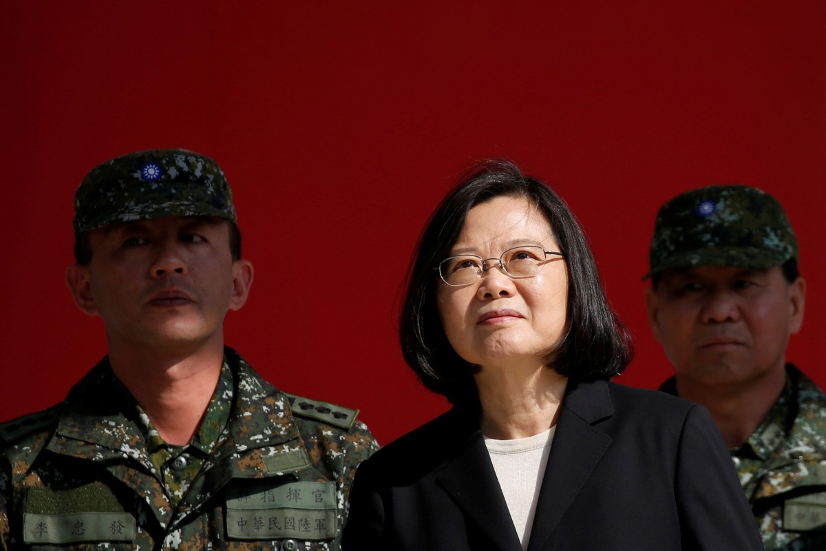 Taiwan President Tsai Ing-wen warns citizens to be on guard against