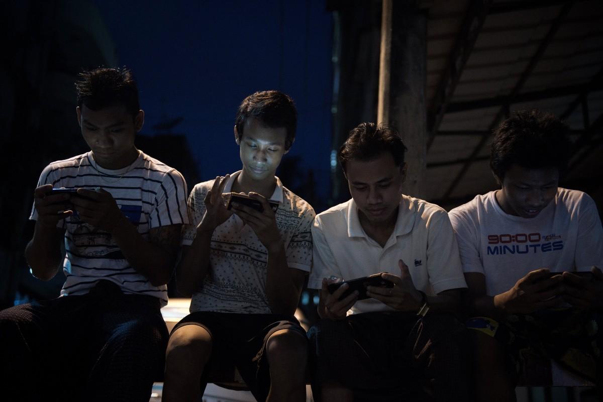 In Myanmar, 5G tests in Yangon, but a seven-week web blackout in