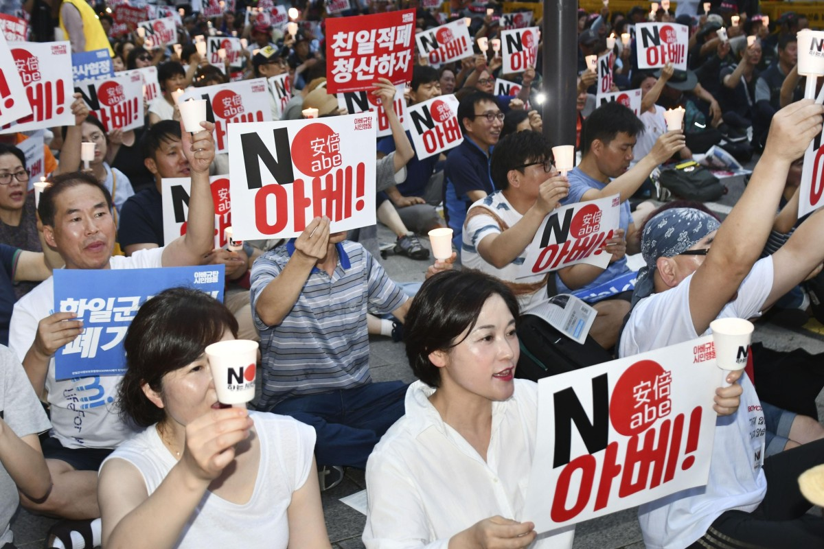 South Korea warns of retaliation against Japan's