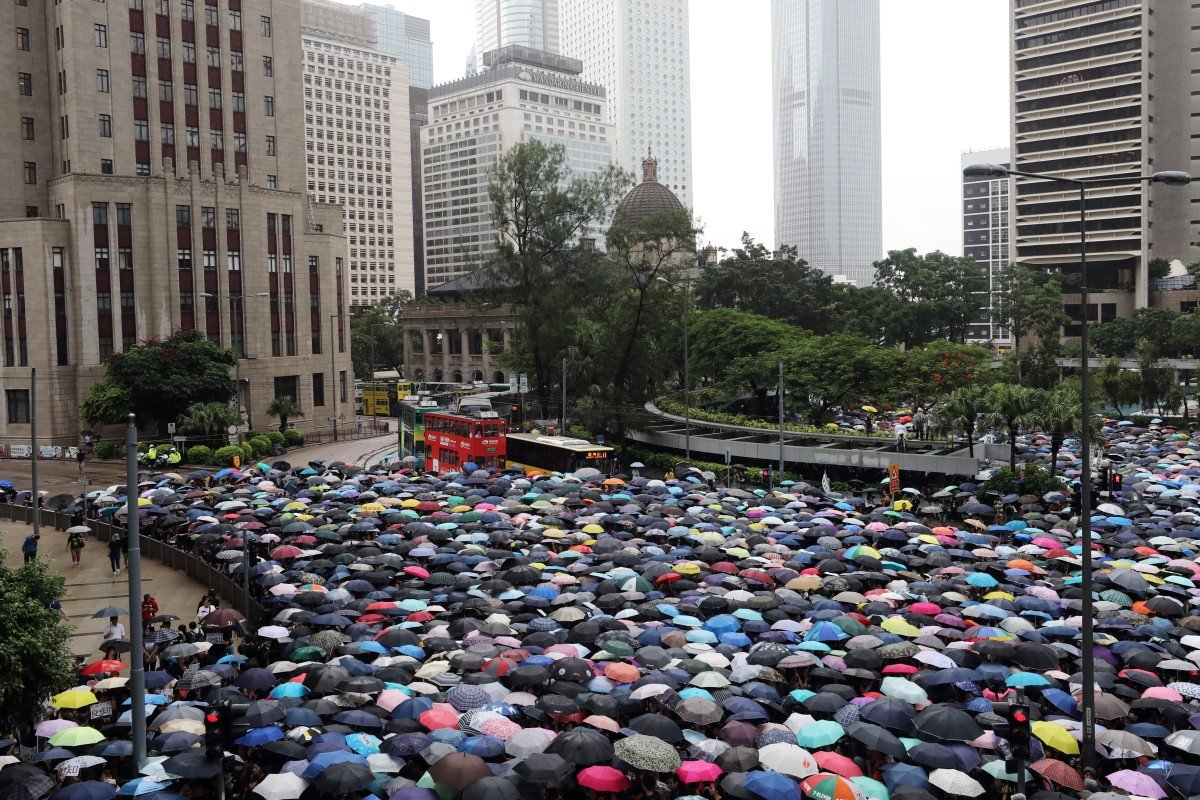 Its Not Just Demonstrators Saying >> More Than 22 000 March In Teachers Rally Supporting Hong Kong S