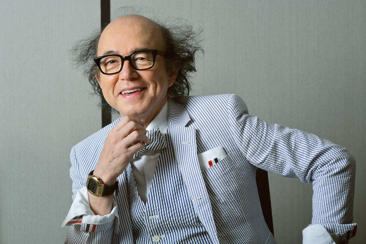 'One has to be an individual': GQ Japan editor, 70, on bourgeois dress codes undermined, and wearing two...