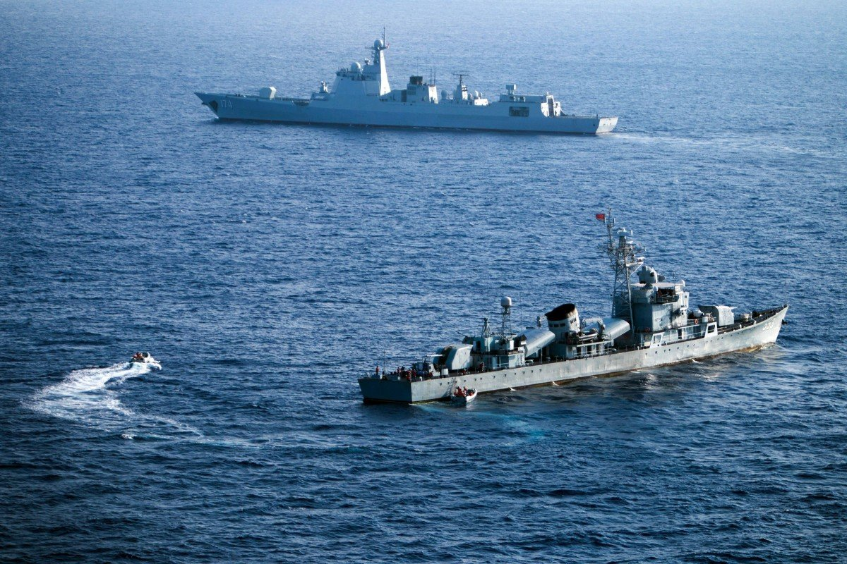 China puts new weapons and warships through paces in live-fire drills near Vietnam