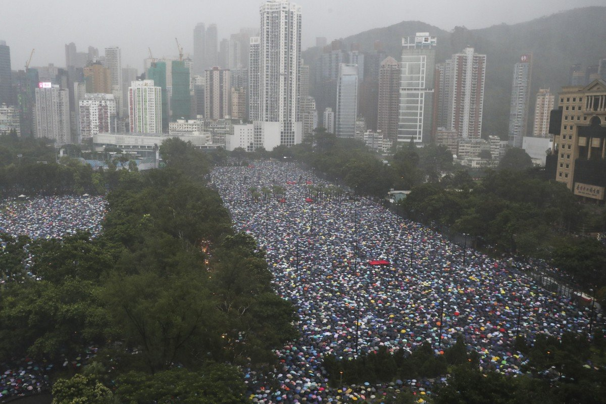 Peaceful march was change of strategy for Hong Kong protesters, giving government less room to act against...