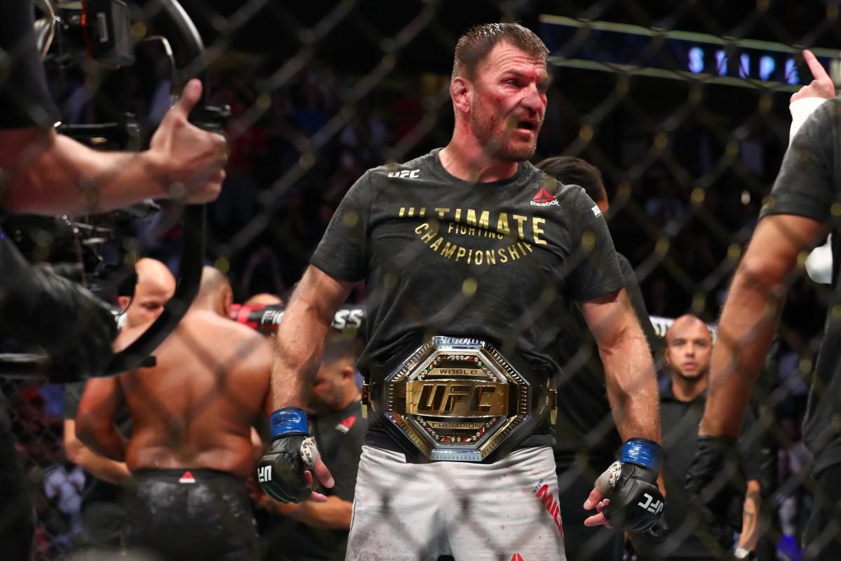 UFC 241: Stipe Miocic stops Daniel Cormier by TKO to regain