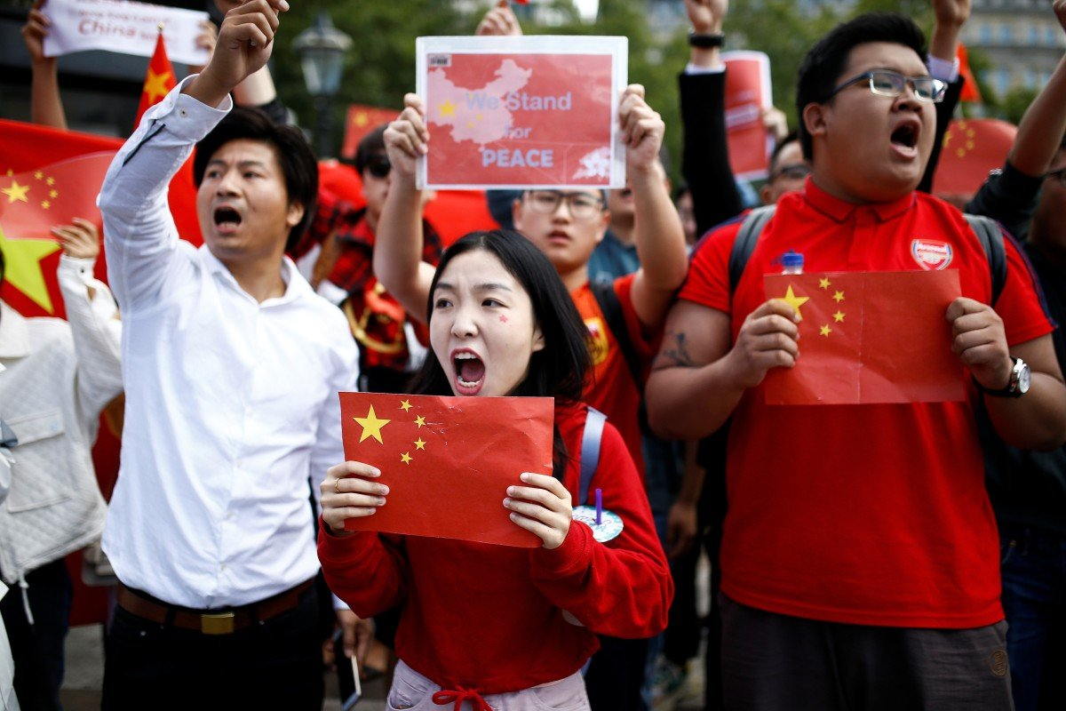 Its Not Just Demonstrators Saying >> Hong Kong Activists And Beijing Supporters Stage Rival Protests In