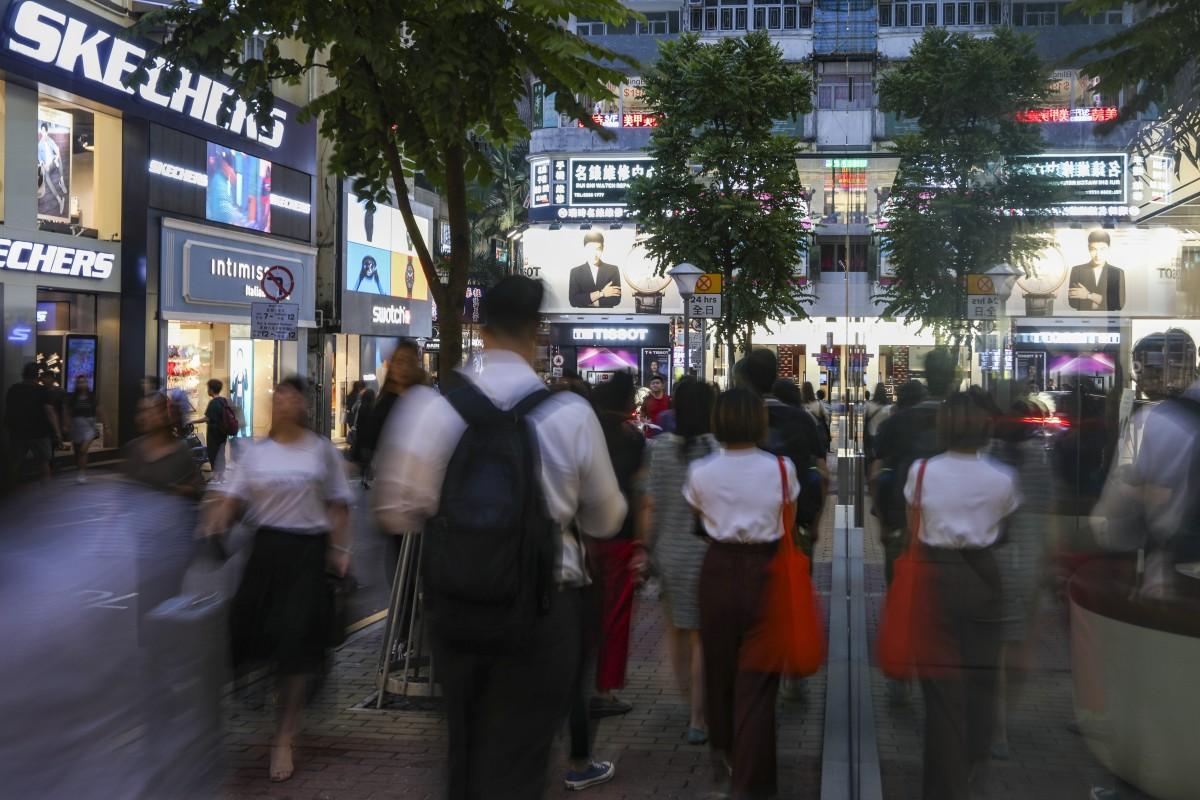 Hong Kong protesters slash personal spending in economic