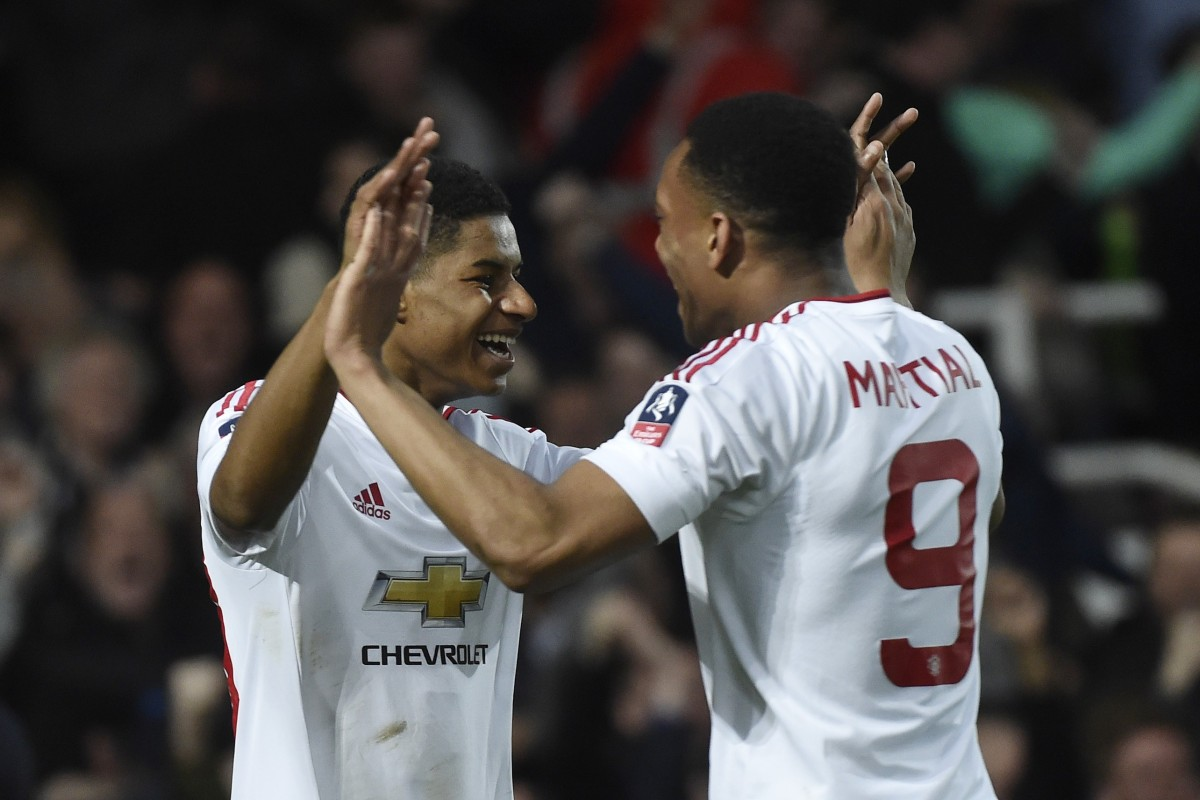 Dimitar Berbatov backs Anthony Martial and Marcus Rashford to thrive up front for Manchester United