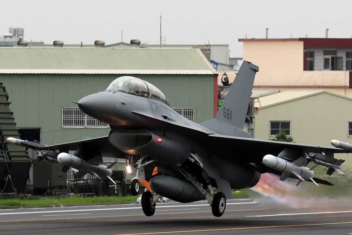 Chinese military says Taiwan's US$8 billion deal to buy US F