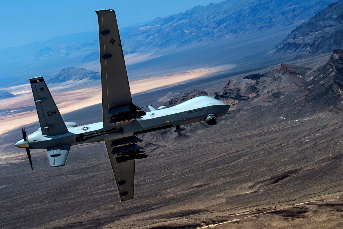 US military Reaper drone shot down over Yemen