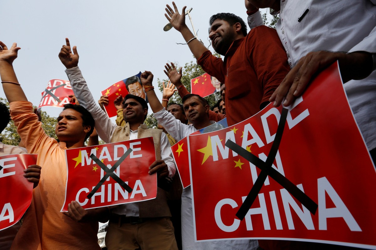 Indians told to boycott Chinese goods after Beijing backs Pakistan on Kashmir