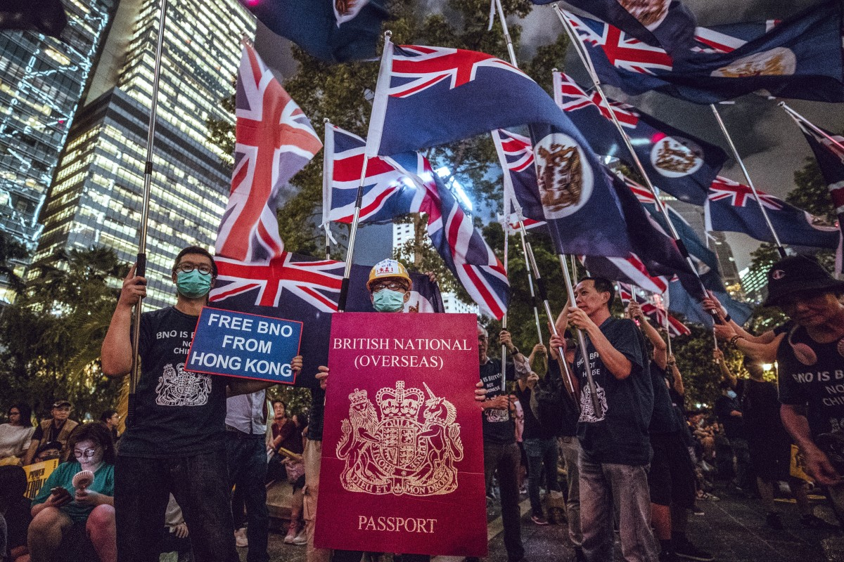 Are Hong Kong protesters pro-American or British when they