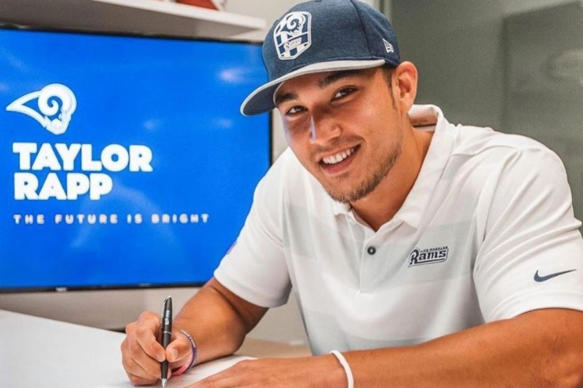 fb78bff0 NFL rookie Taylor Rapp out to 'prove Asians can play' and be the ...