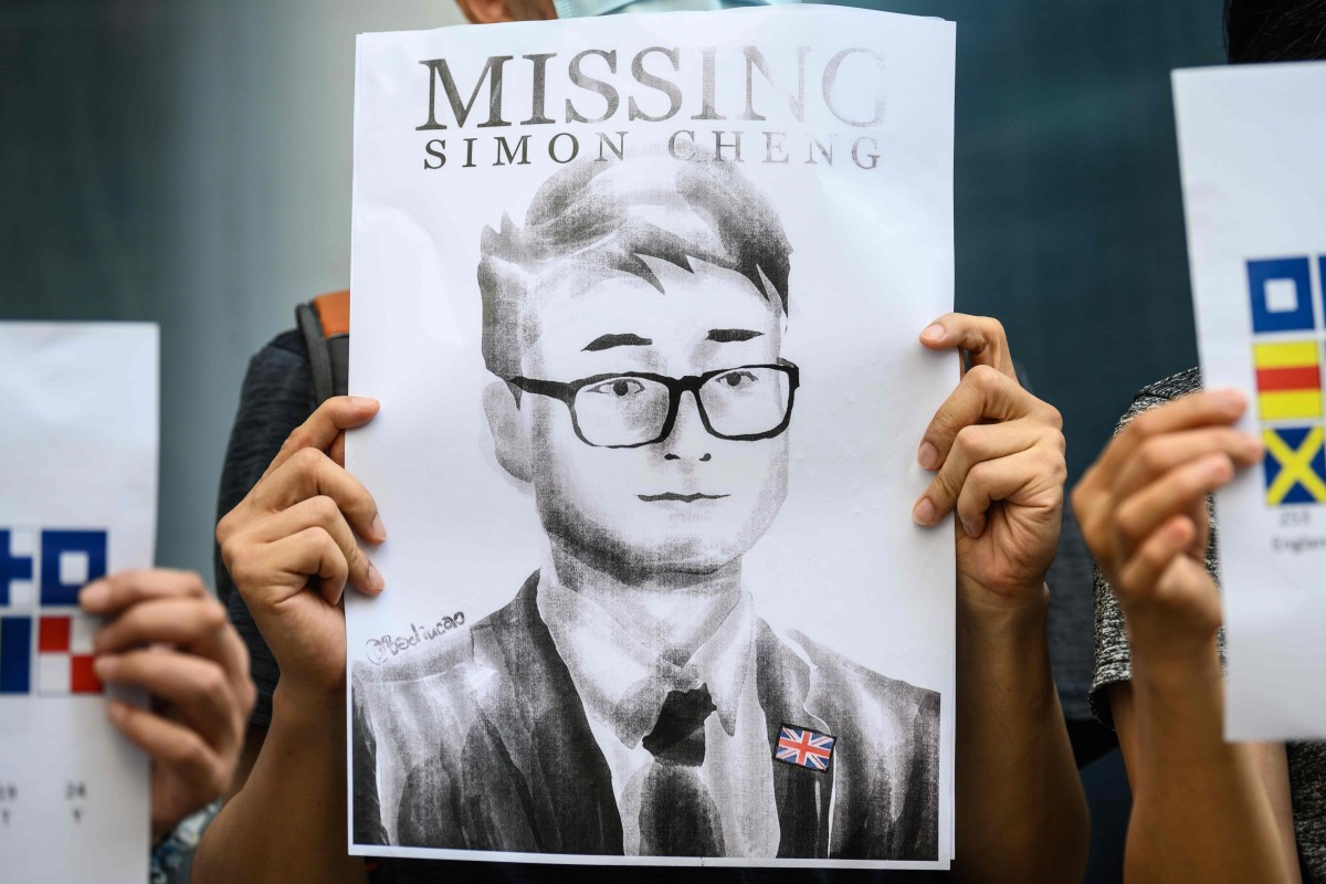 Britain in urgent quest for contact with Hong Kong consulate employee Simon Cheng Man-kit