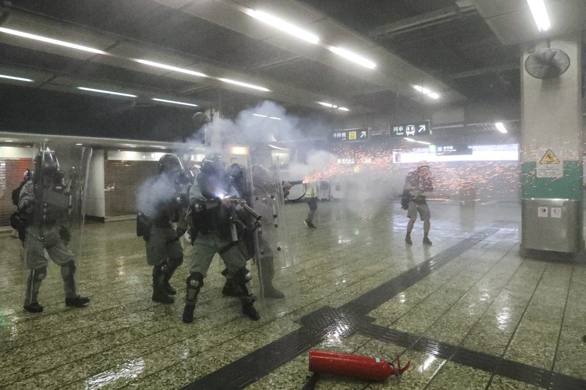 Expert in respiratory medicine urges Hong Kong police to draw up tear gas guidelines after warning of...