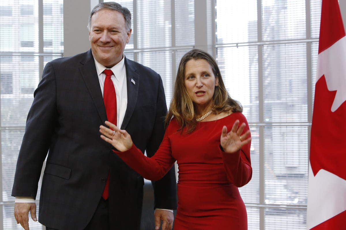 Image result for pompeo canada
