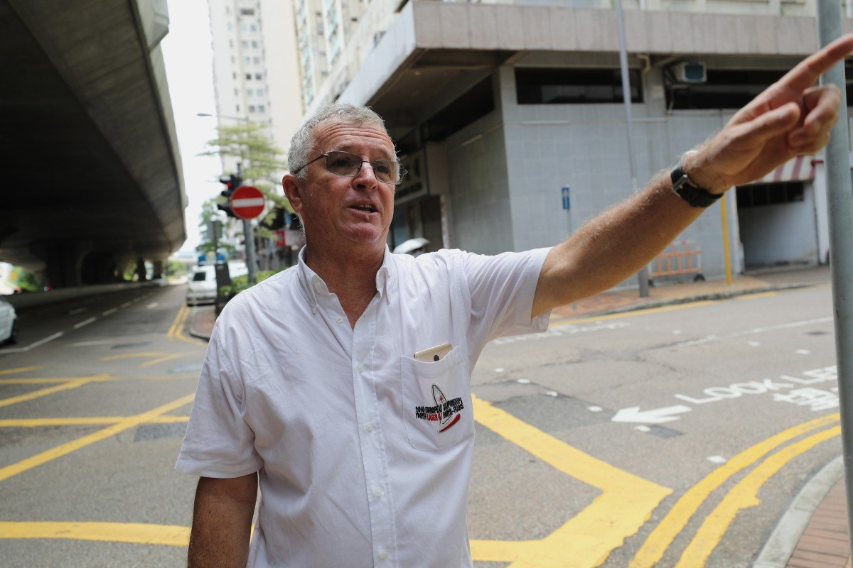 Hong Kong police accused of locking up onlookers not