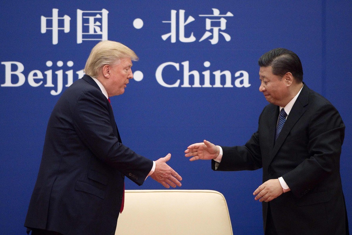 The possibility of greater cooperation exists, if President Donald Trump and President Xi Jinping, seen here in Beijing in November 2017, can focus on areas of shared interests such as in maintaining the UN system and the acceleration of the free-trade structure. Photo: AFP