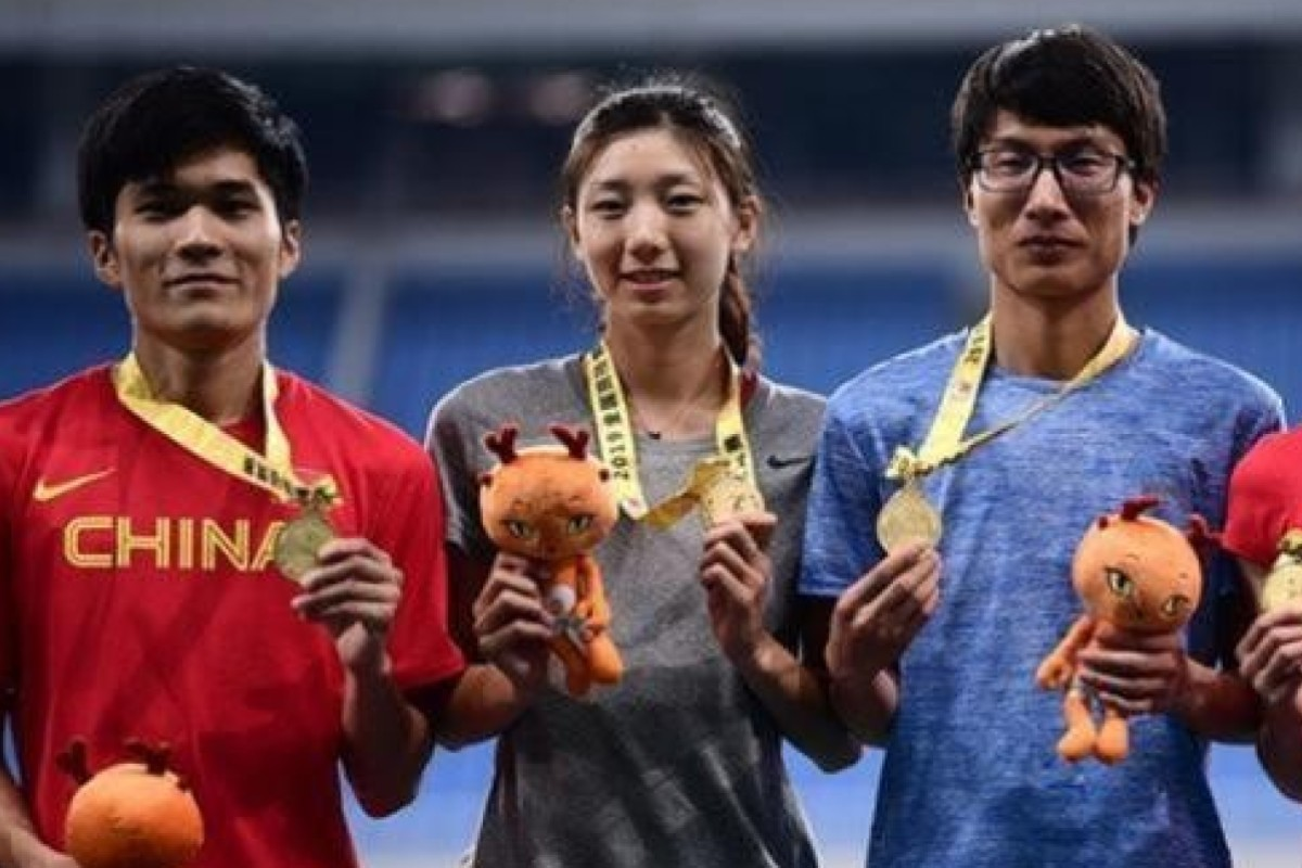 Women's 400m runners go viral on Chinese social media 'for looking like men'