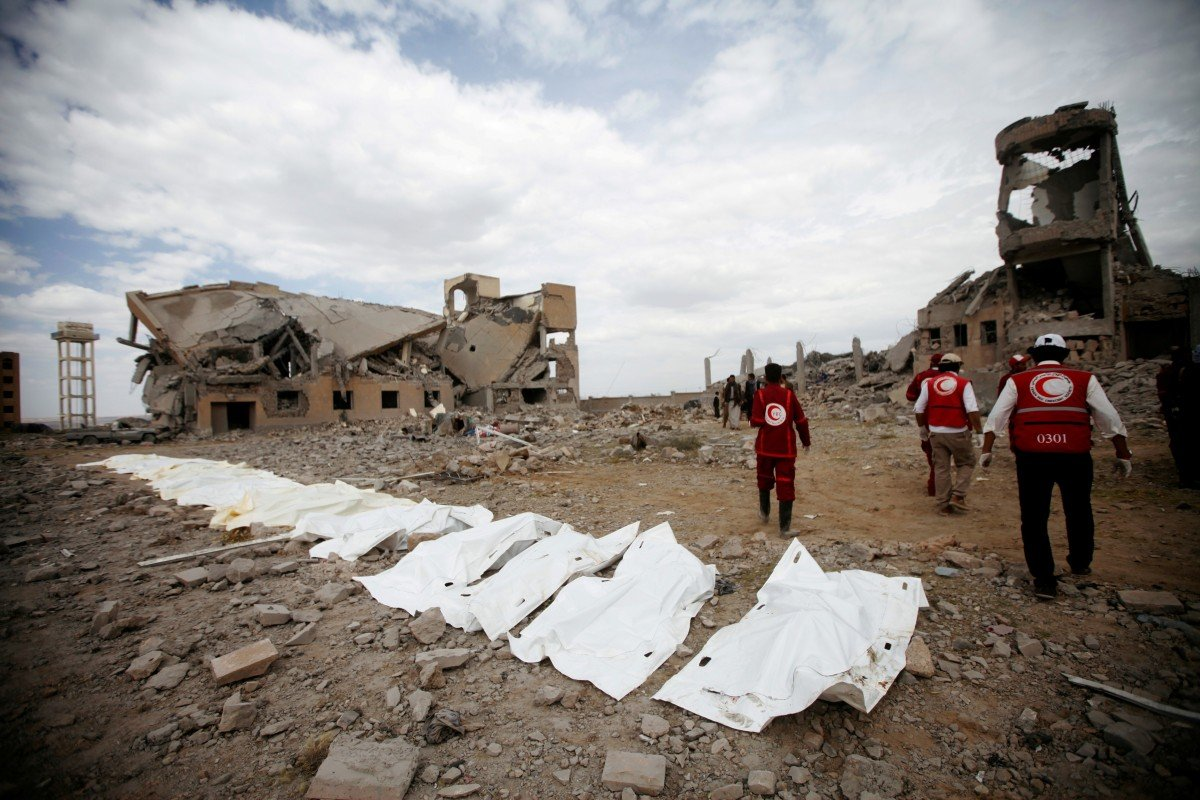 In Yemen, 20 million people are at risk of famine as