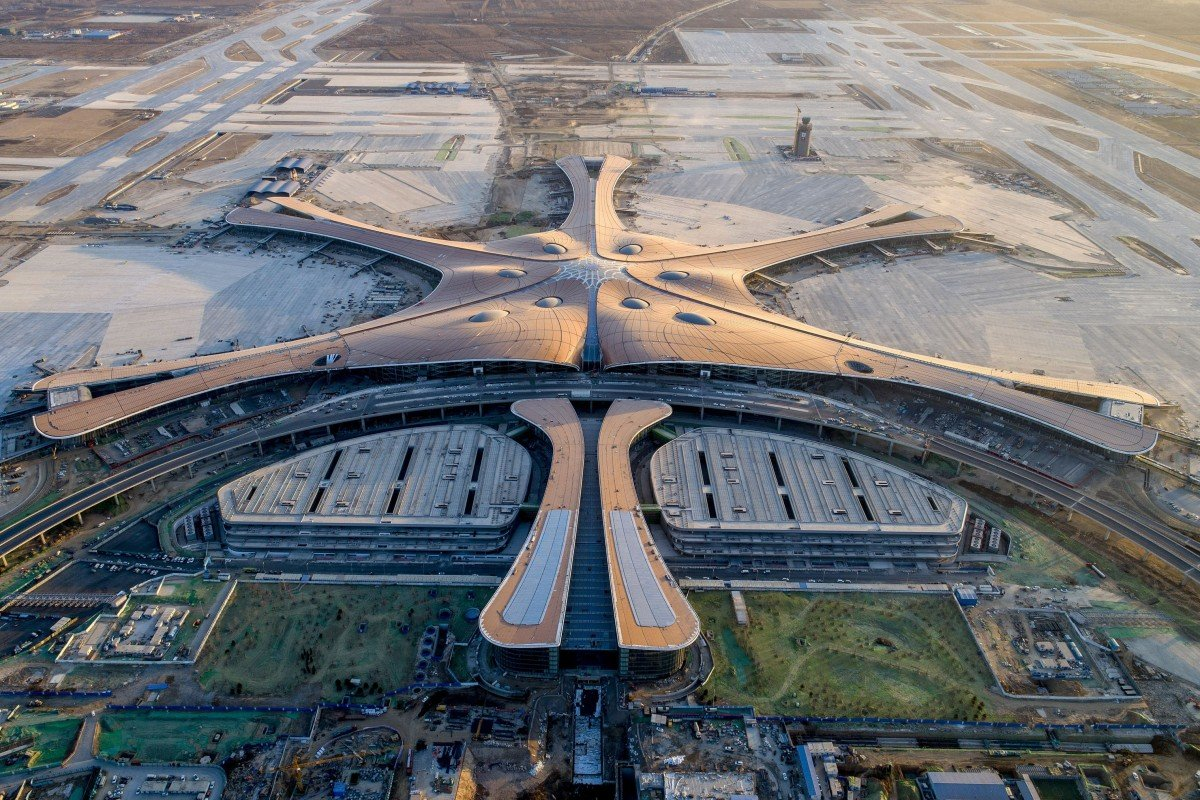 Image result for beijing daxing international airport