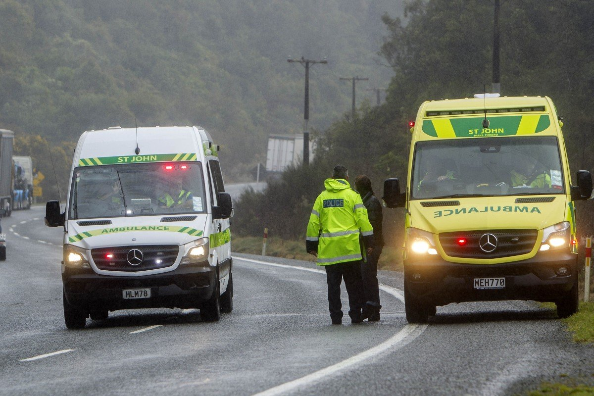 Five Chinese tourists dead after bus crash in New Zealand
