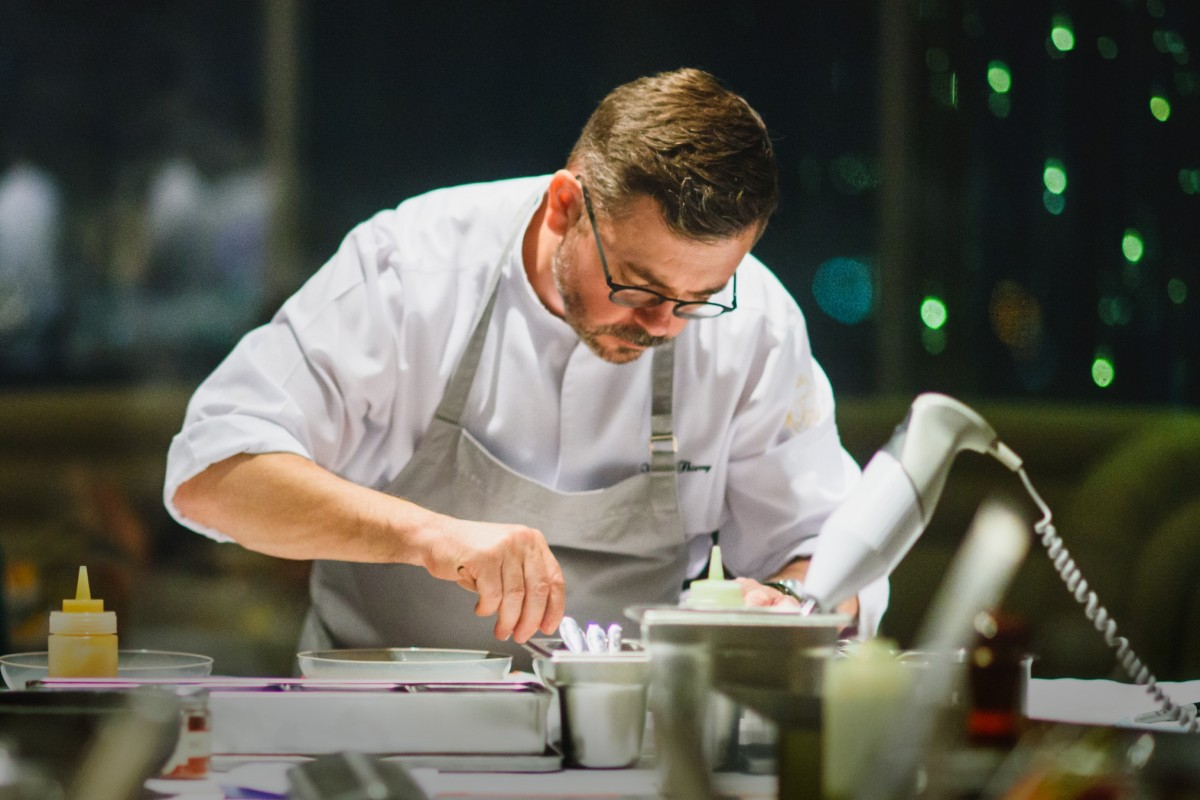 What made French chef Vincent Thierry leave Hong Kong for