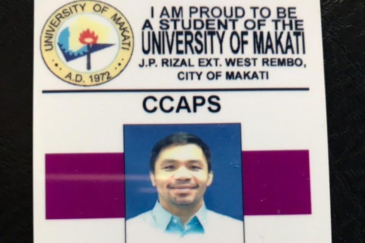 Manny Pacquiao goes back to school in Manila – 'never stop