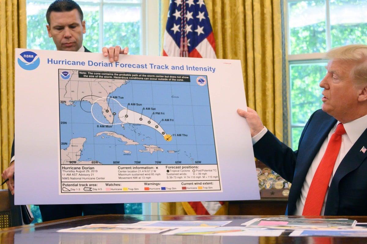 Donald Trump refuses to let go of false claim that Hurricane