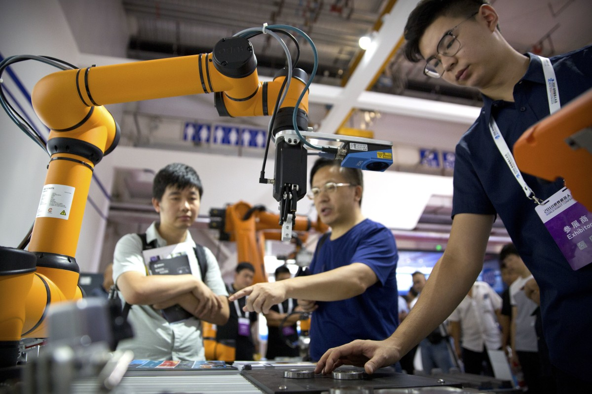 China's imports of industrial robots from Japan continue to