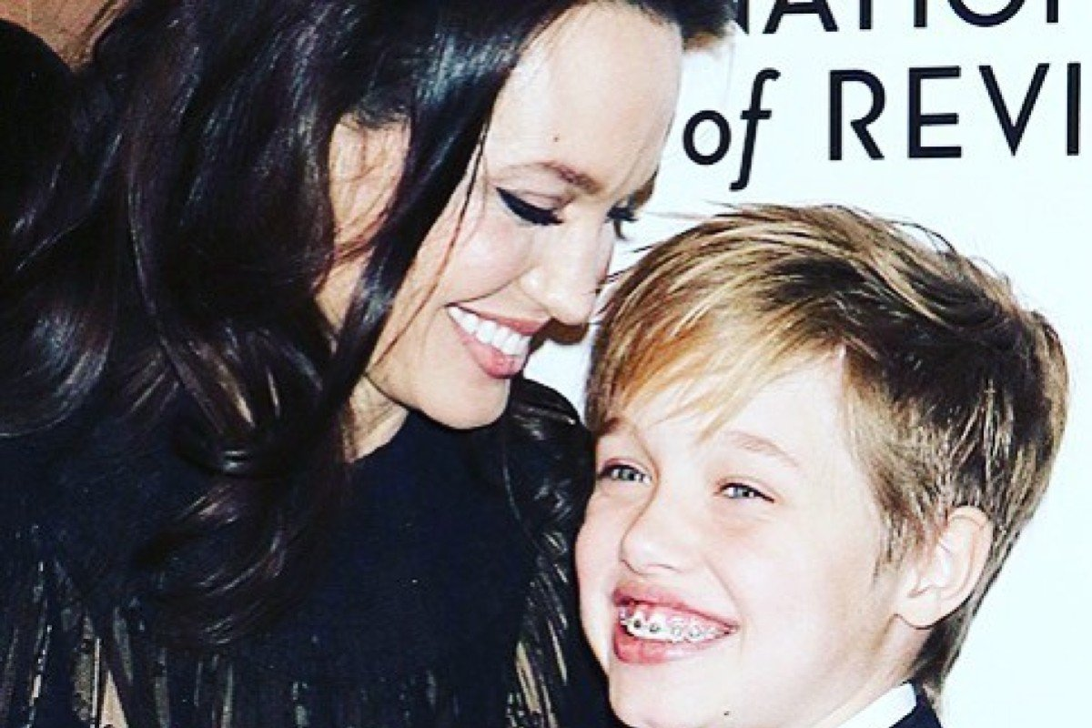 Shiloh Jolie-Pitt with mother Angelina Jolie. Photo: Instagram