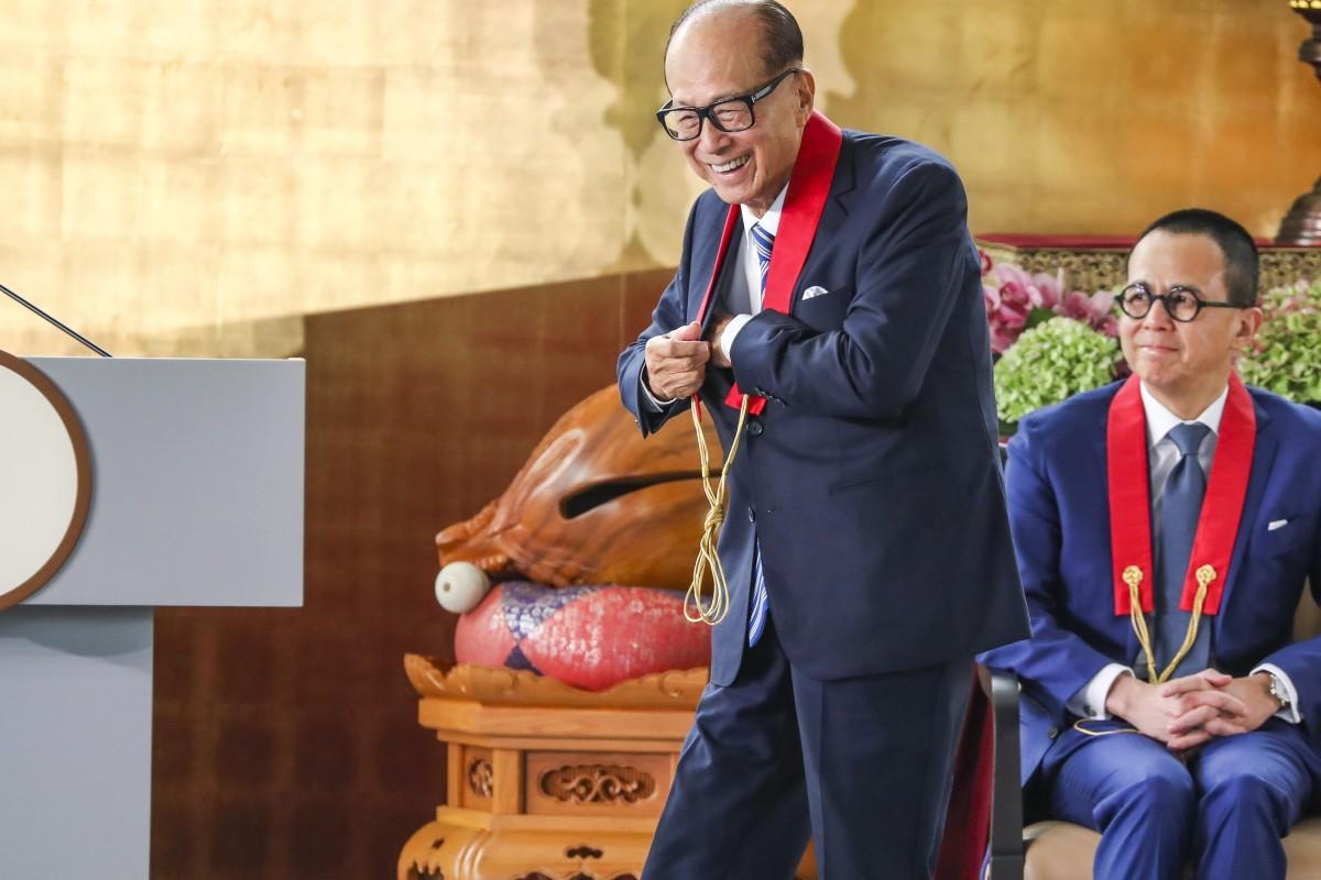 Hong Kong tycoon Li Ka-shing hits back at 'unwarranted' accusations he condones crime and caused city's...