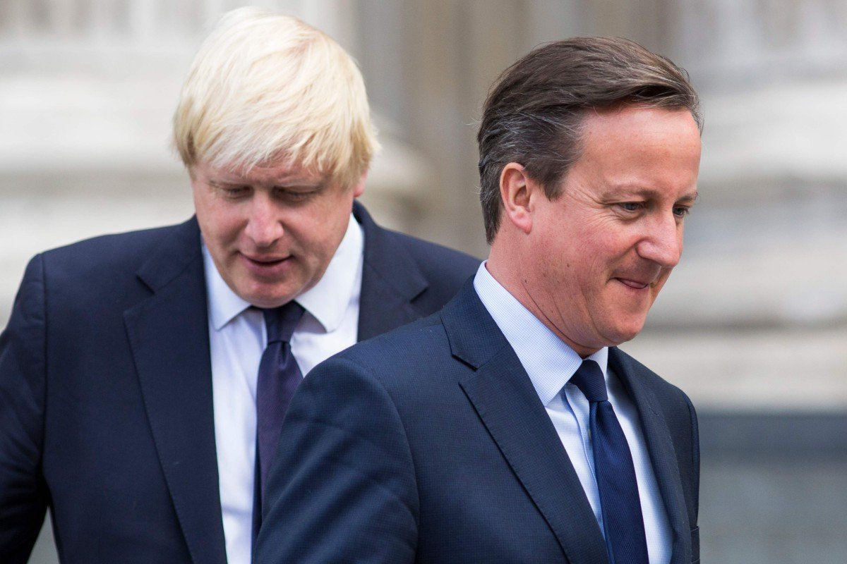On Eve Of British Pm Camerons Visit >> Former British Pm David Cameron Who Called The Brexit