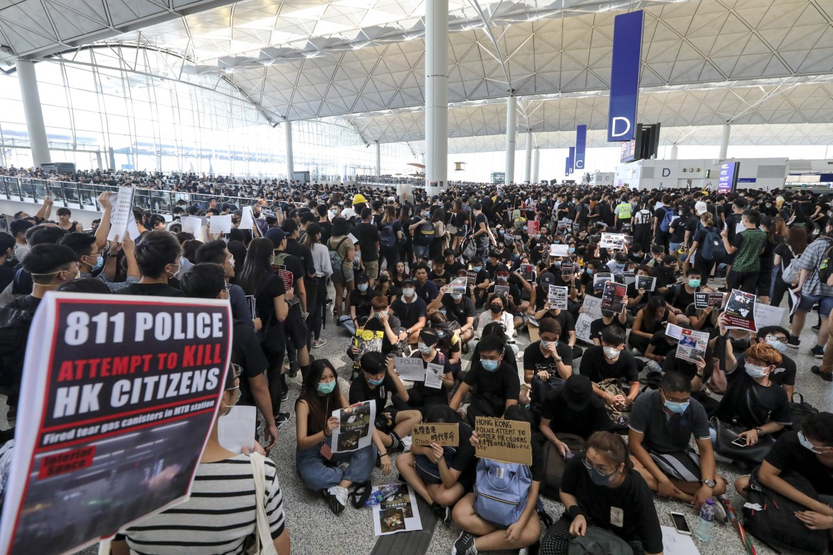 Hong Kong airport's loss is Guangzhou and Shenzhen's gain amid ongoing anti-government protests