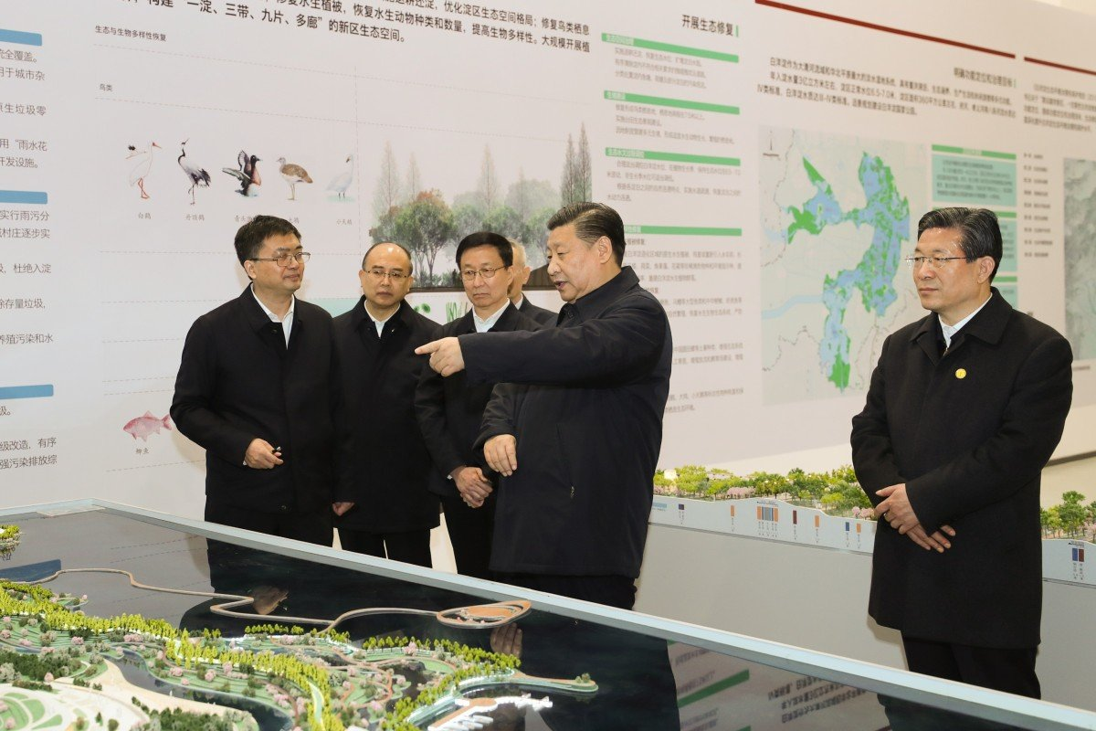 President Xi's dream city of Xiongan pushes ahead with smart city infrastructure aimed at covering all areas