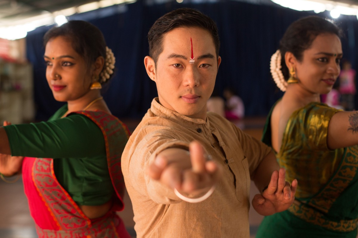The dancer breaking racial and gender stereotypes in India: a mixed-race man in an Indian woman's world