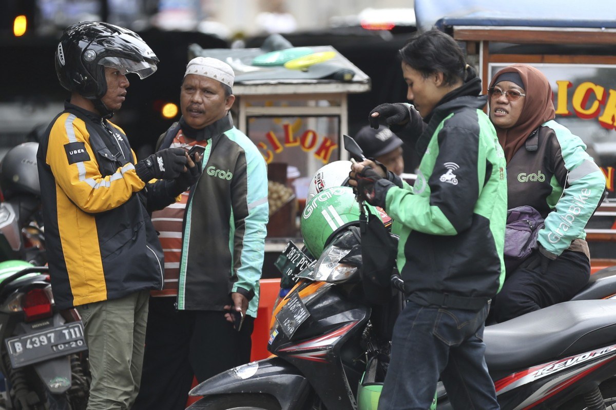 Indonesia is also working with Gojek and Grab to accelerate a safe and integrated transport system through a smart mobility program. Image: AP