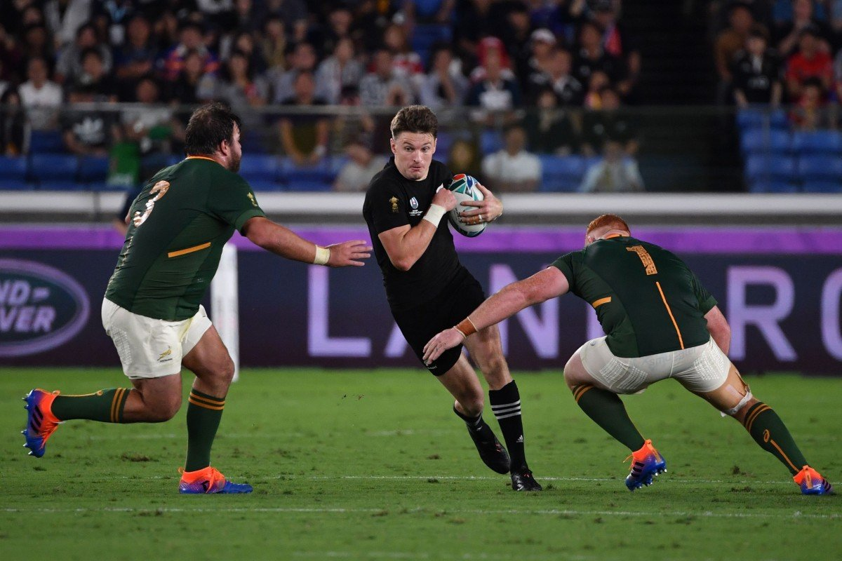 Rugby World Cup 2019 New Zealand Down South Africa In