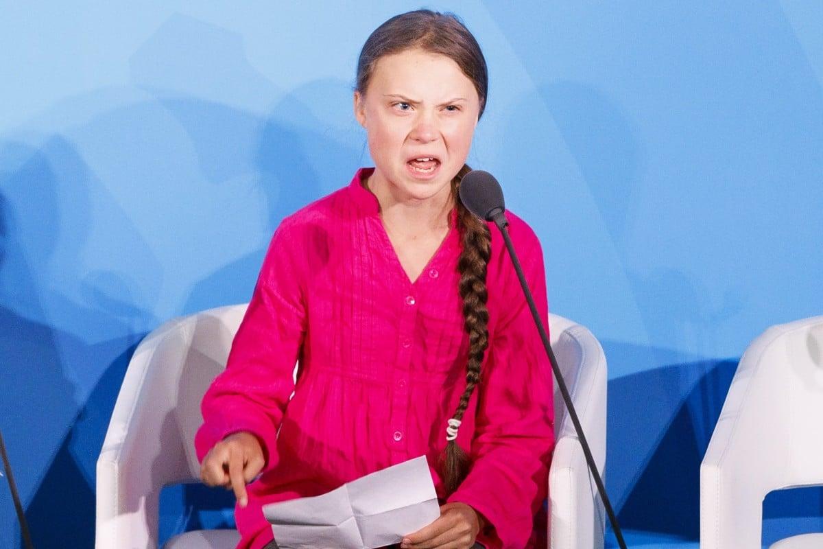 """Грета Тунберг Говорот на ООН потсетува на """"бебиња исфрлени од инкубатори"""" во војната во Ирак"""