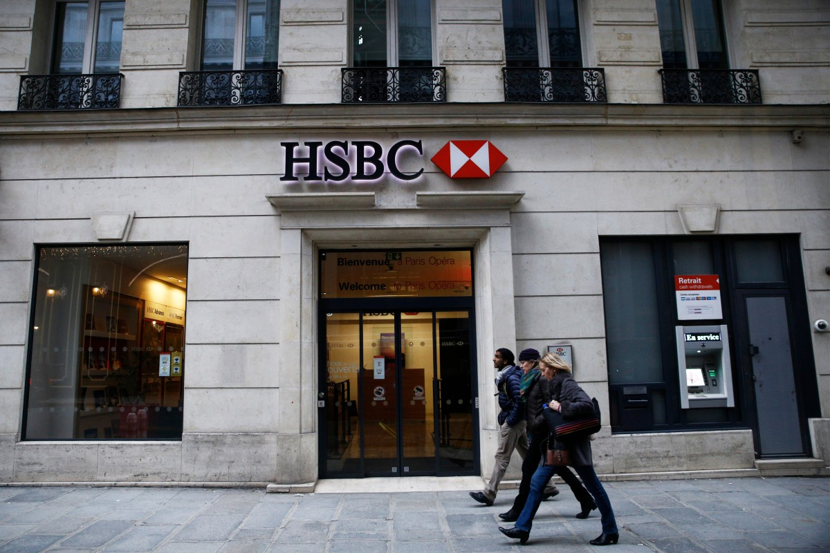 Image result for Europe's largest lender HSBC says pre-tax profits dropped 18% year over year