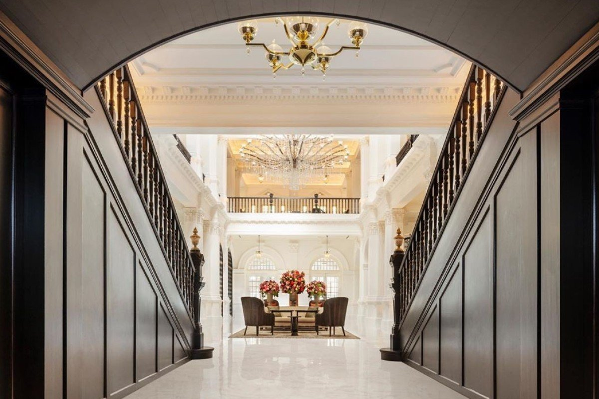 Groovy We Review Raffles Hotel Singapore After Renovations At The Machost Co Dining Chair Design Ideas Machostcouk