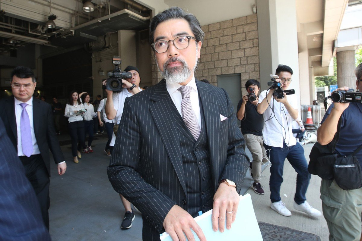 Vice-chairman Edwin Choy of Hong Kong Bar Association resigns over body's stance on anti-government protest...
