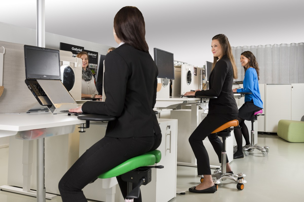If sitting is the new smoking, these reinvented office chairs will keep your blood pumping and spare you...