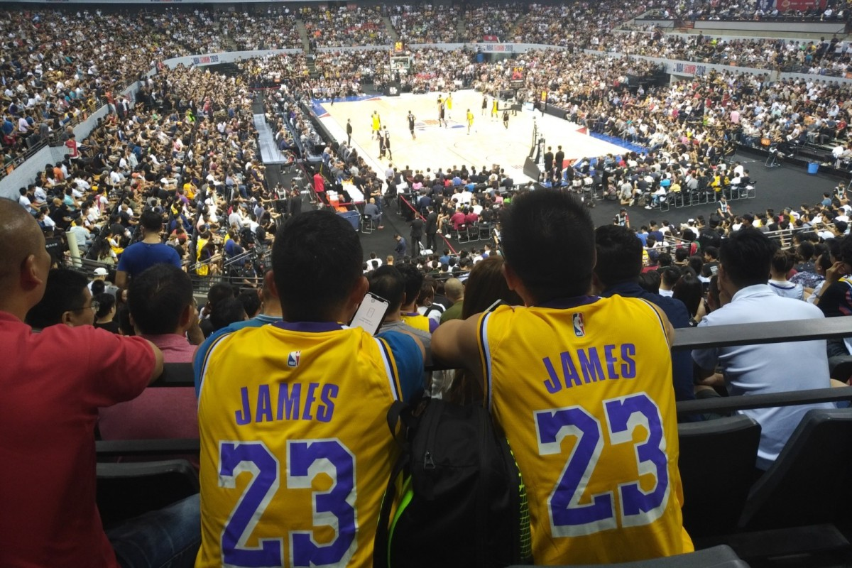 Foreign NBA fans stick to basketball as Lakers take on Nets in a China tweet storm