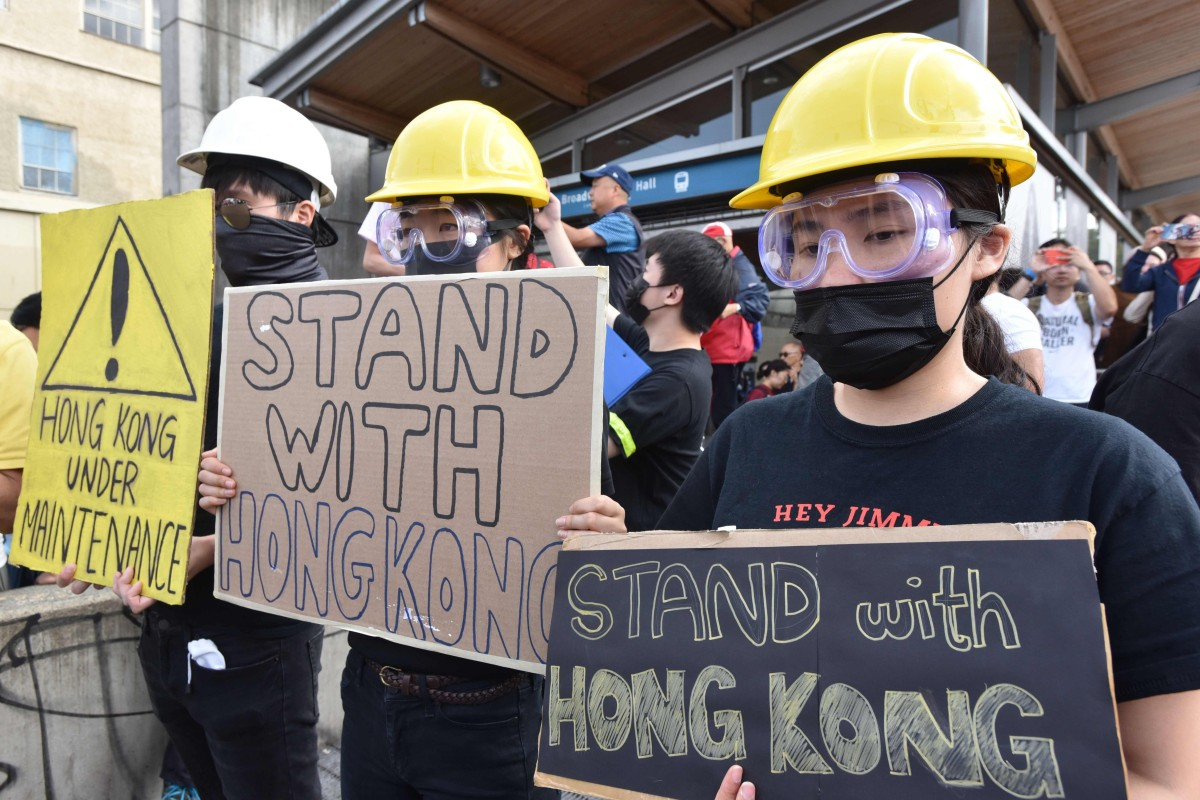 Could Hong Kong protests sway the Canadian election?