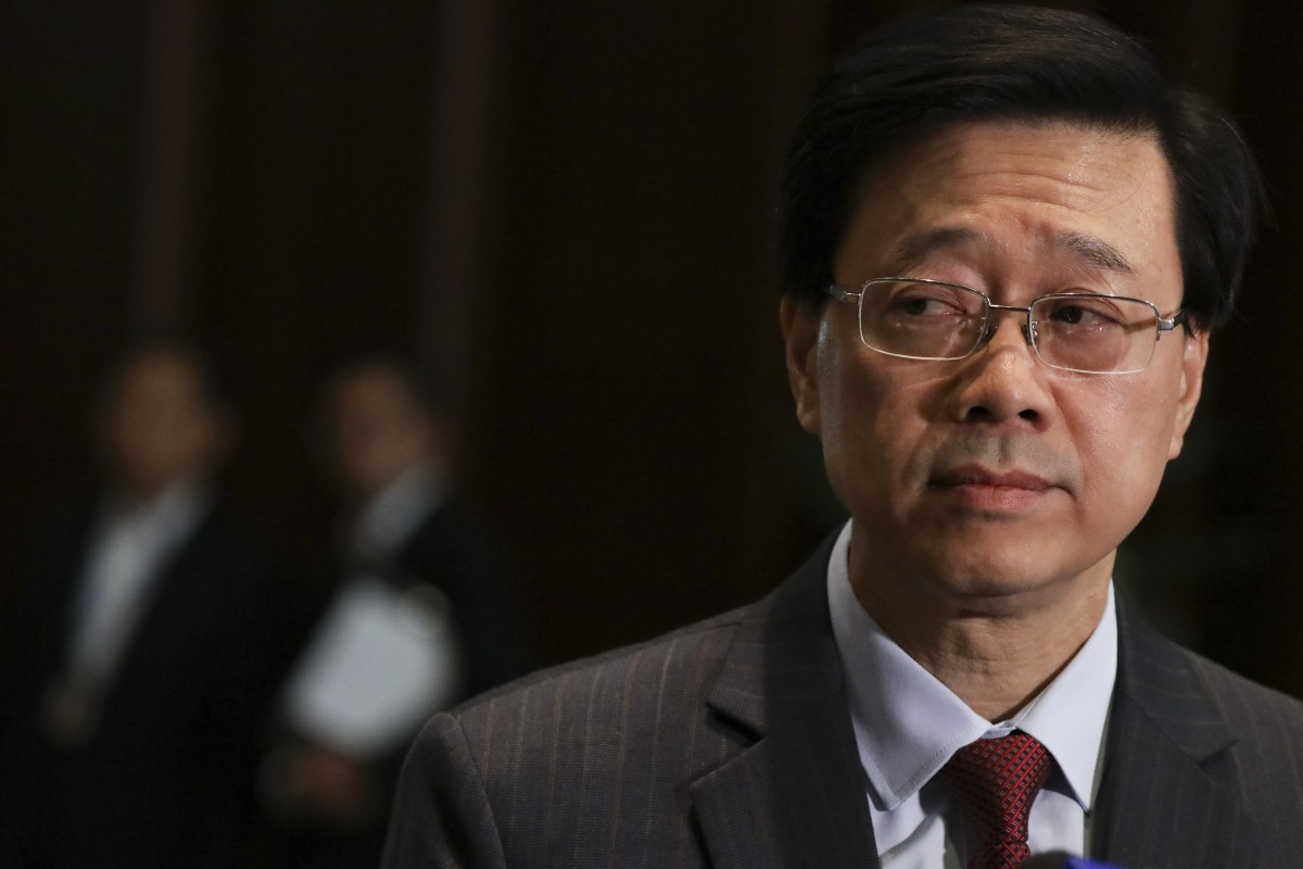 Hong Kong security chief John Lee refuses to step down over government's failure to quell protests