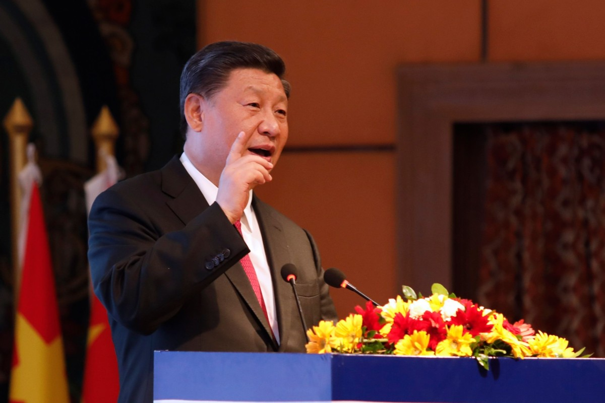 Chinese President Xi Jinping warns that anyone trying to split any part of country will be crushed